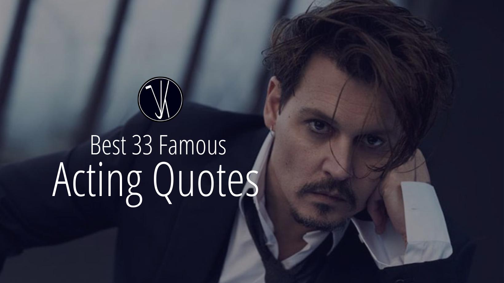 Best Acting Quotes