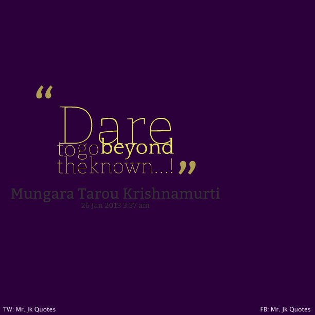 Go Beyong Quotes