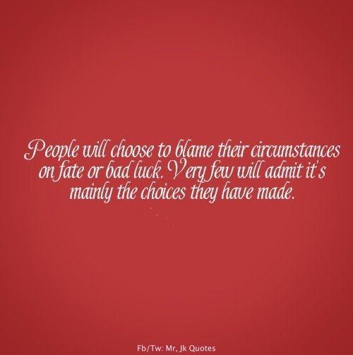Bad Fate Quotes