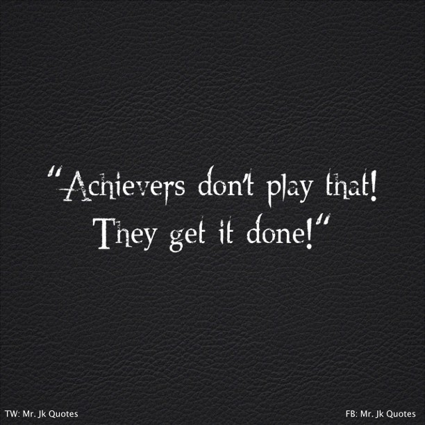 Great Achievers Quotes