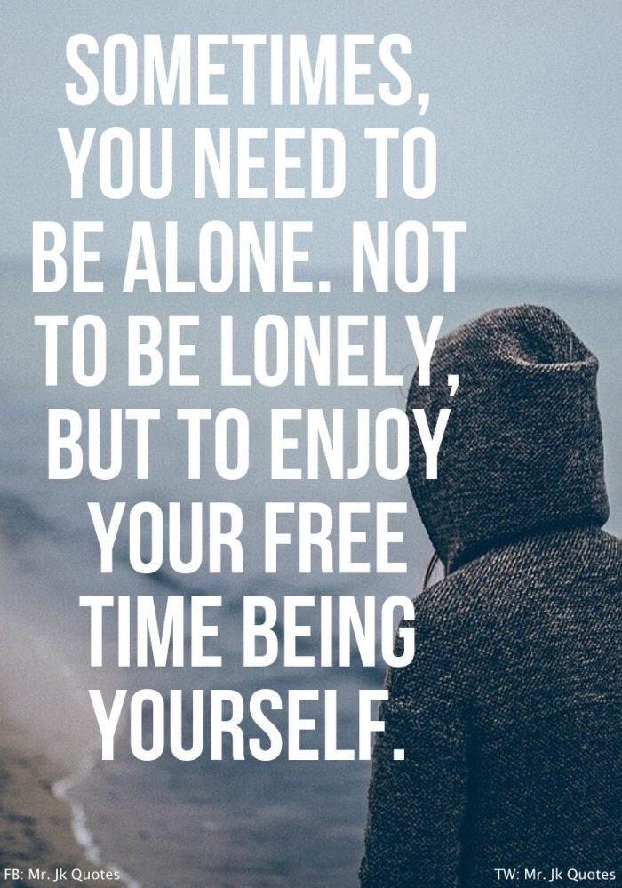 Being Alone Quotes for Girls