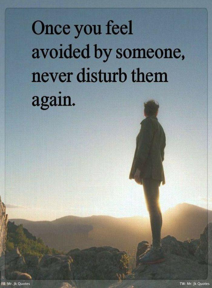 Avoiding Love Quotes