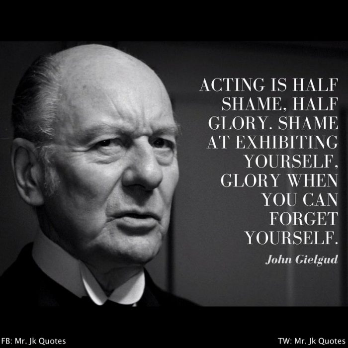 Shakespeare Acting Quotes
