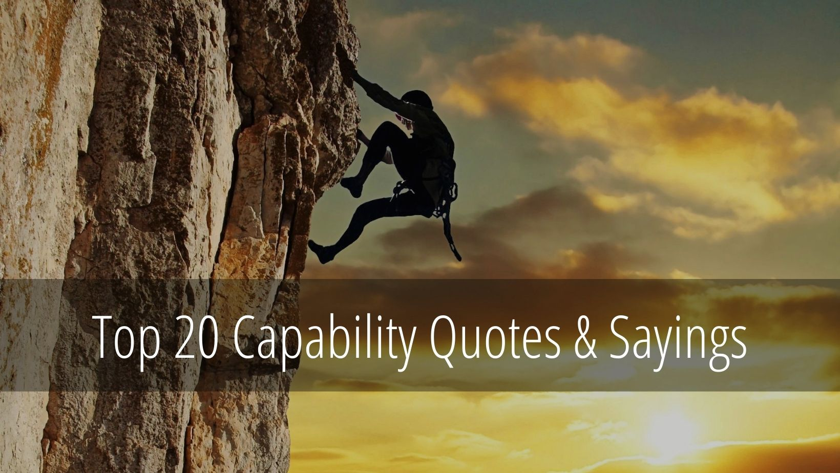 capability quotes