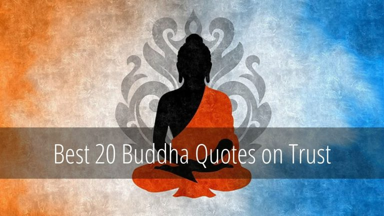 Buddha Quotes on Trust