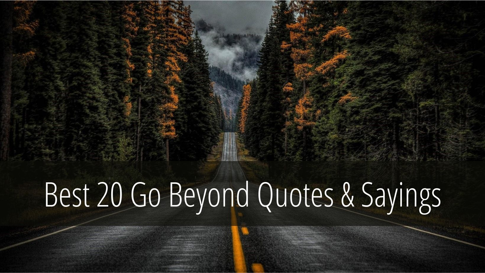 Go Beyond Quotes