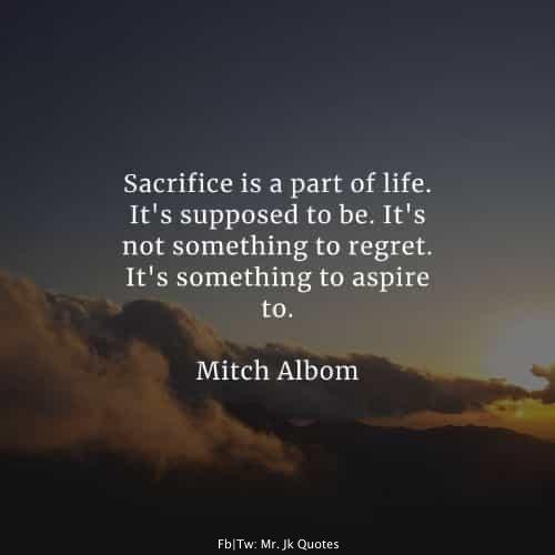 Quotes about Sacrifice