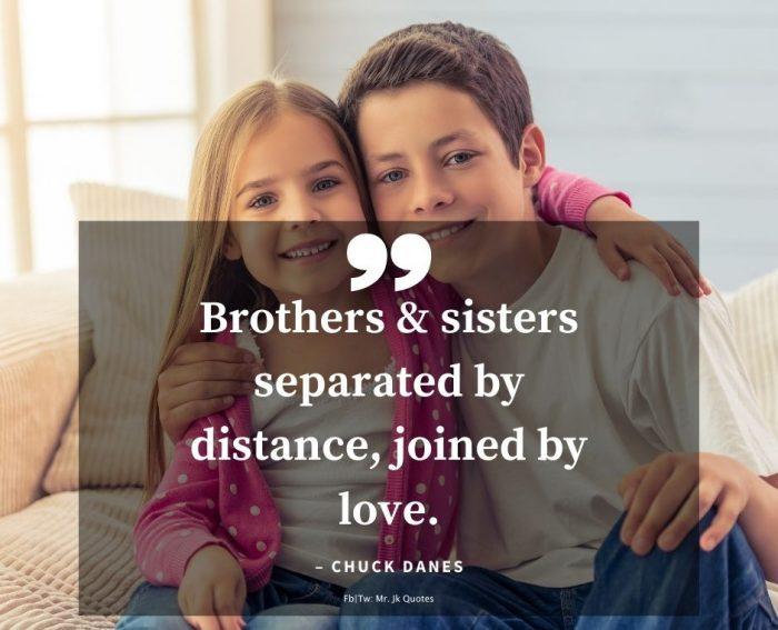 Bro sis love quotes