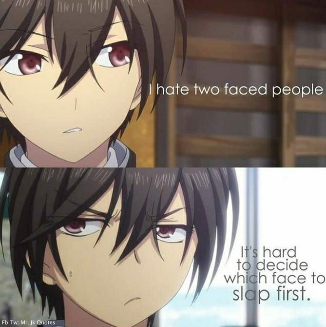 Funny Anime Quotes