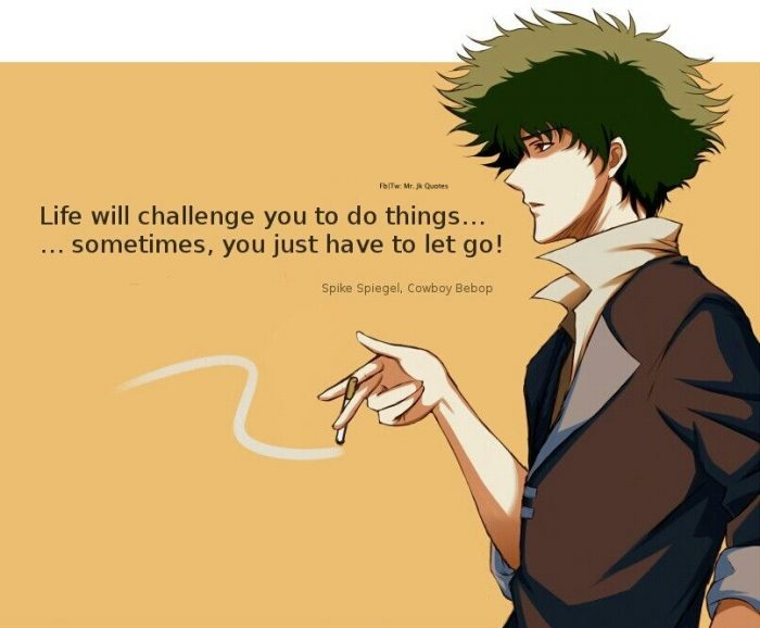 Best 20 Spike Spiegel Quotes & Sayings 3