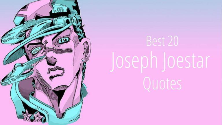 Joseph Joestar Quotes