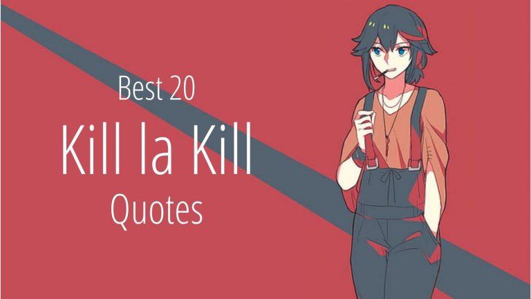 Kill la Kill quotes